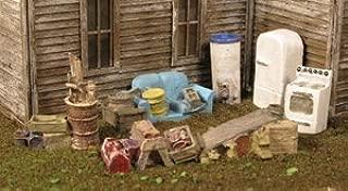 Monroe Models HO BACKYARD JUNK (Lead Free Material) Items Stove, Refrigerator, Sofa etc Item 2302