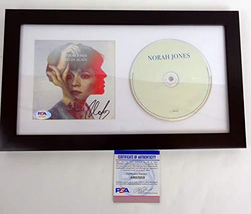 Norah Jones Autographed Signed Autograph Begin Again Cd Framed PSA/DNA COA