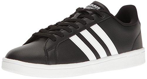 adidas Men's Shoes   Cloudfoam Advantage Sneakers, Black White, (12.5 M US)