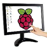 Raspberry Pi Display, ELECROW 10,1-Zoll Touchscreen Monitor mit Fernbedienung und integrierten...