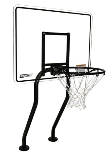 S.R. Smith S-BASK-CH Swim N' Dunk Salt Friendly Challenge Basketball Game, black