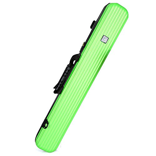 (Aofit)ハードロッドケース 防水性 耐用性 耐衝撃性 釣りロッド収納 大容量 ロッド固定 ロッド保護ケース 100cm グリーン