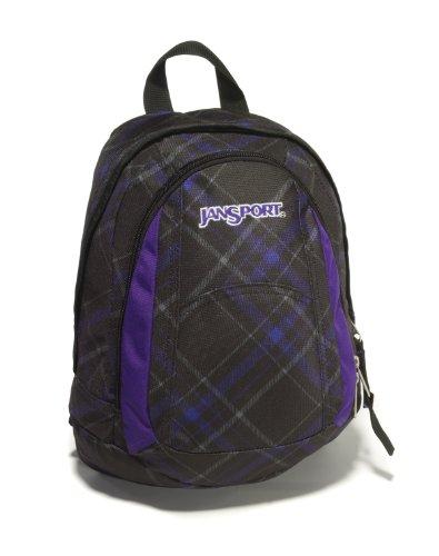 JanSport Rucksack Backpack Mini Trinity 13 L Schwarz/Lila
