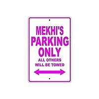 屋外の装飾的なアルミニウムの看板、メキの駐車場は他のすべてのものだけが牽引されます公園の看板公園ガイド警告看板私有財産のための金属屋外の危険標識
