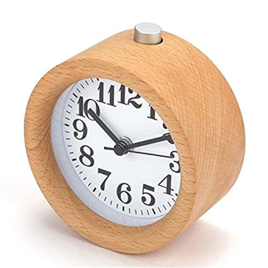 秘密の物理習慣NLE時計 学生創造的なベッドサイドLEDクロックミュート人格スヌーズ小さな目覚まし時計