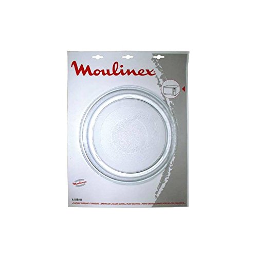 Moulinex Drehteller aus Glas, Durchmesser 280mm, für Moulinex-Mikrowellen