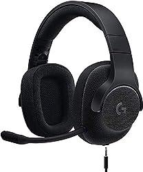 Logicool G ゲーミングヘッドセット 有線 G433BK 高音質 7.1ch Dolby 3.5mm usb 軽量 ノイズキャンセリング 単一性 着脱式マイク PC/PS4/Switch/Xbox/スマホ 国内正規品