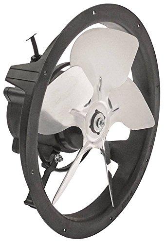 ELCO Ventilator Anschluss 2-adrig drückend Drehrichtung drückend 1400U/min ø 250mm 50/60Hz Kabel 2.000mm 10W Lüfterrad 200mm