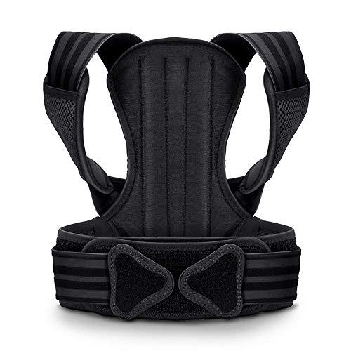 VOKKA Geradehalter zur Haltungskorrektur Rücken für Damen & Herren - Schultergurt Haltungskorrektur - Unterstützung für Wirbelsäule und Rücken - Lindert Nacken-, Rücken- und Schulterschmerzen - M