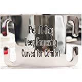 Personalized Pet ID Tag for Dog and Cat...