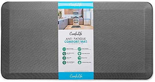 ComfiLife Anti Fatigue Floor Mat 3 4 Inch Thick Perfect Kitchen Mat Standing Desk Mat Comfort product image