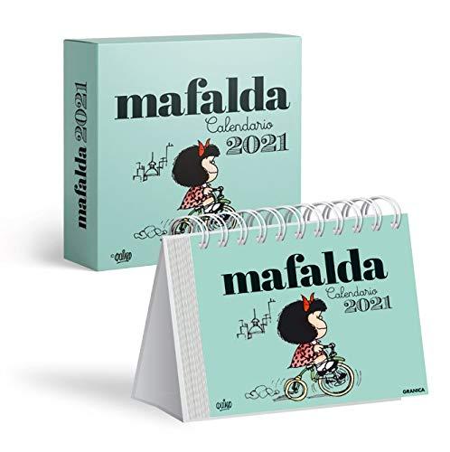 Calendario 2021 Mafalda Caja - Verde
