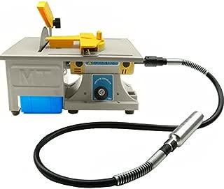 Jewelry Polishing Machine,Finlon Gem Rock Stone Buffer Bench Lathe & Polisher Machine Set - 110V