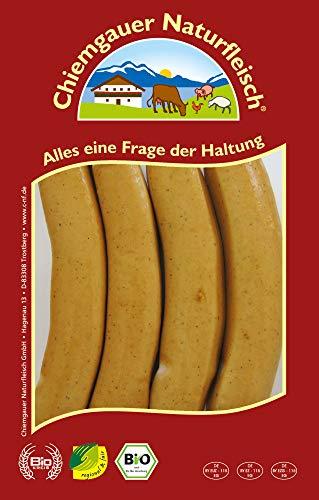Chiemgauer Naturfleisch Bio Geflügelwiener (6 x 110 gr)