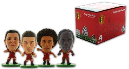 SoccerStarz 400762 - Belgien Fußball-Nationalmannschaft 4 Player Box D