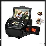 GKD Escáner de fotografía y película de 2.4 Pulgadas 135 escáner Negativo escáner de Fotos, escáner Combo, escáner, conversión de películas, Tarjeta de Negocios