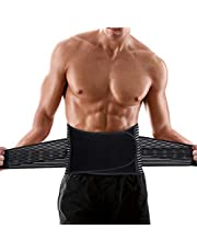 SUPRBIRD Mannen taille trainer tops fitness riemen sauna buik manier body shaper gewichtsverlies corset vetverbranding taille corset neopreen zweet rugverband