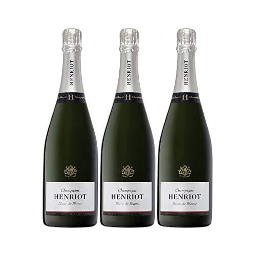 Champagne Blanc de Blancs - Champagne Henriot - Rebsorte Chardonnay - 3x75cl - 17/20 Jancis Robinson