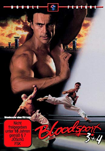 Bloodsport 3 & 4 Double Feature - mit PAT MORITA aus 'Karate Kid'