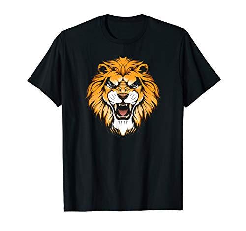 King Lion Royality Face for kids men women T-Shirt