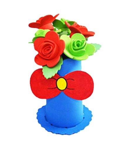 2 jeux d'enfants mignonne bricolage en pot de se leva en EVA décoratifs