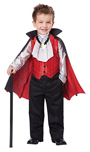 California Costumes 00162 DAPPER VAMPIRE Costume, 3-4