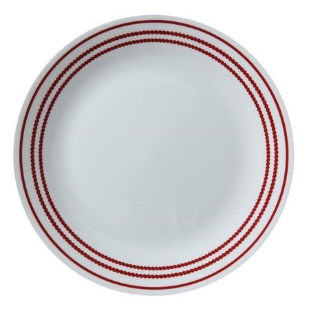 Corning Corelle Livingware Ruby Red Salad/luncheon Plate