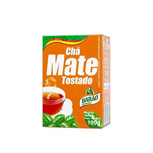 Mate-Tee BARÃO geröstet, 100g - Chá Mate BARÃO Tostado 100g