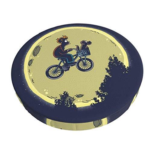 Sgabello da Bar Copre Bicicletta volante Elastico Bar Rotondo Sedia Copre Lavabile Sgabello Cuscino Fodera per la Casa Bar 12in