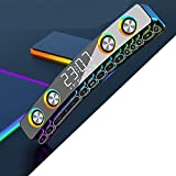 Kocanli Wireless Computer Soundbar, RGB LED Bluetooth Muti-Function Speaker with 13 Mechanical Gaming Keys with 3D Stereo, Subwoofer for PC or Party