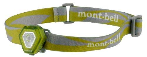 モンベル(mont-bell) ヘッドライト マイクロヘッドランプ リーフグリーン 1124463 LEGN
