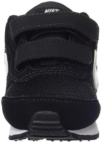 Nike MD Runner 2 (PSV), Zapatillas de Deporte Unisex niños, Negro (Black/White-Wolf Grey 001), 21 EU