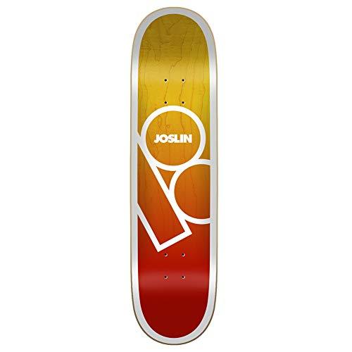 Plan B Joslin Andromeda - Tavola da skateboard, 20,3 cm, multicolore