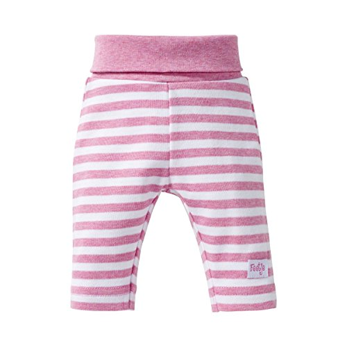 FEETJE Le pantalon rayé pantalon bébé, taille 62, rose
