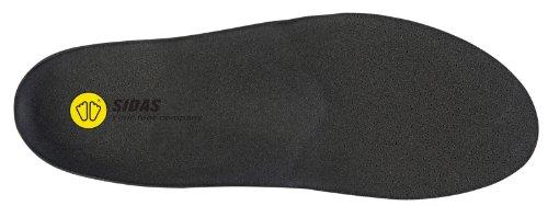 Sidas Outdoor+ Semelles intérieures fines (pour chaussures à faible volume), noir, M (homme - 40 à 42)