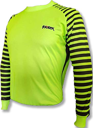 Footex Fußballtrikot Fußballtrikot Modell Monaco Volt Green, Volt Green, S