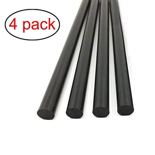 SZQL Carbon Fiber Rod Länge Feste Leichte Spar Unterstützung Pultruded Weit verbreitet in Lenkdrachen Gebraucht,Diameter:2.5mm