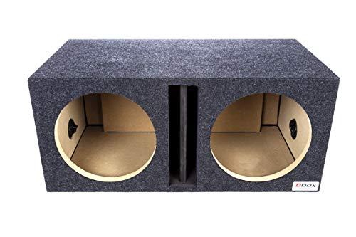 BBox E12DV Dual 12' Vented Carpeted Subwoofer Enclosure