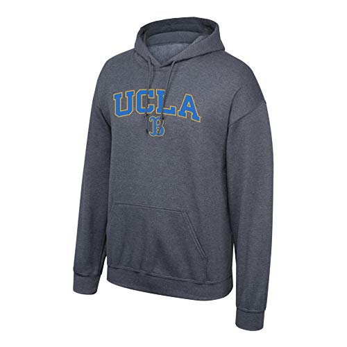 Elite Fan Shop NCAA Herren Kapuzenpullover UCLA Bruins Dark Heather Arch UCLA Bruins Dark Heather XL