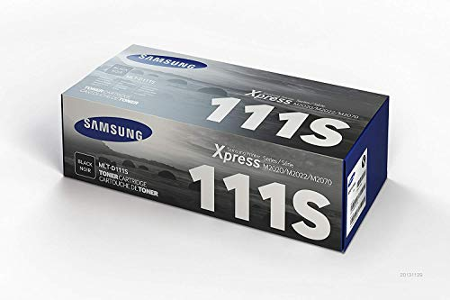 Cartouche de Toner Noir Samsung MLT-D111S Authentique (SU810A) pour Imprimantes Laser Samsung