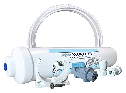 Inline Water Filter Kit for Ice Makers and Refrigerators
