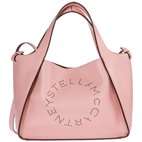 Stella McCartney borsa a mano stella logo donna rosa