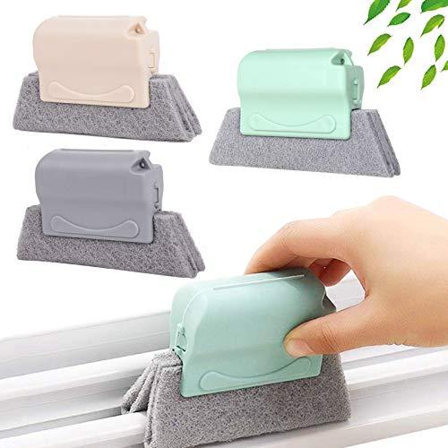 Cepillo de limpieza creativo,Cepillo de Ventana de la Puerta Ranura,limpiar rápidamente todas las esquinas y espacios,Limpia rápidamente Todas Las Esquinas,cepillo mágico para limpiar ventanas (3)