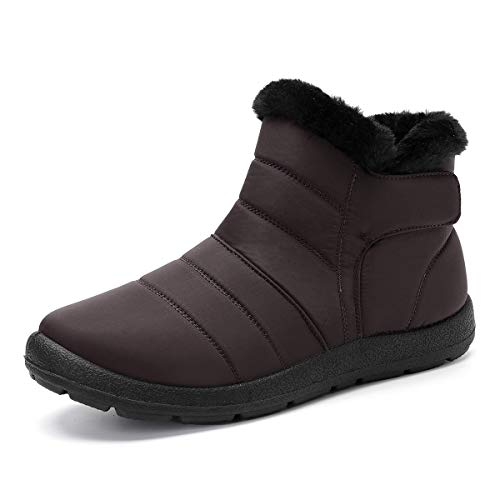 gracosy Warm Snow Boots Women Winter Ankle Boots...