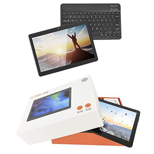 HOTREALS, Tablette Android 10,1 Pouces, Tablette quadricœur Android 9 Pie OS, 4 Go de RAM, 64 Go de ROM, réseau WiFi 3G, Bluetooth, GPS, Type-C, Batterie 8000mAh (Noir)