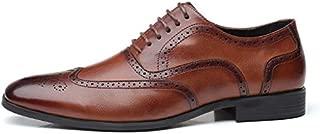 SR trade-YUNTU Men's Business Shoes Size 38-48 Men's Dress Shoes Office Social Designer Wedding Luxury Elegant Men's Dress Shoes