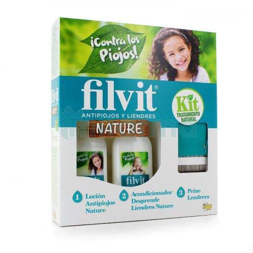 Filvit Nature Kit Lotion + conditioner + kam, per stuk verpakt (1 x 200 g)