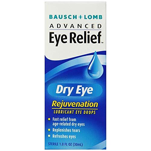 Bausch & Lomb Advanced Eye Relief Dry Eye Lubricant Eye Drops 1oz ( Packs of 2)