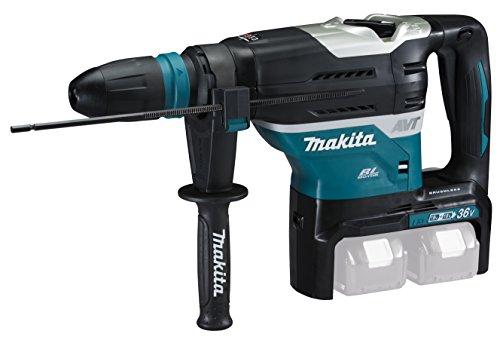 Makita DHR400ZKU Akku-Bohrhammer SDS-MAX, 18 V, Blau, Silber