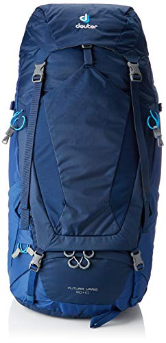 Deuter Futura Vario 50 + 10 Mochila, Unisex Adulto, Azul (Midnight-Steel), 76 Centimeters
